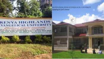 List Of Courses at Kenya Highlands Evangelical University