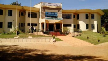List Of Courses offered at Meru University of Science and Technology