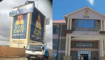 List of Courses Offered at KAG EastUniversity