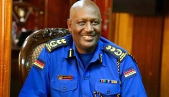 Kenya National Police Service Ranks and Badges