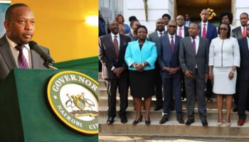 List Of Nairobi County Government Ministers 2018