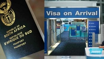 List Of Visa On Arrival Countries for South African Passport Holders 2020