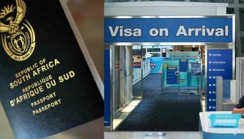 List Of Visa On Arrival Countries for South African Passport Holders