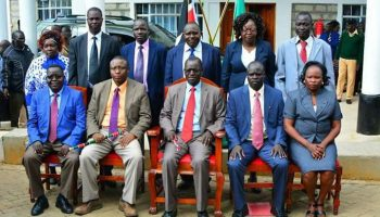 List Of West Pokot County Government Ministers 2018