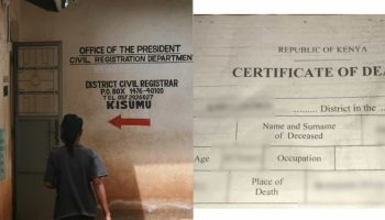 How To Apply For a Death Certificate in Kenya