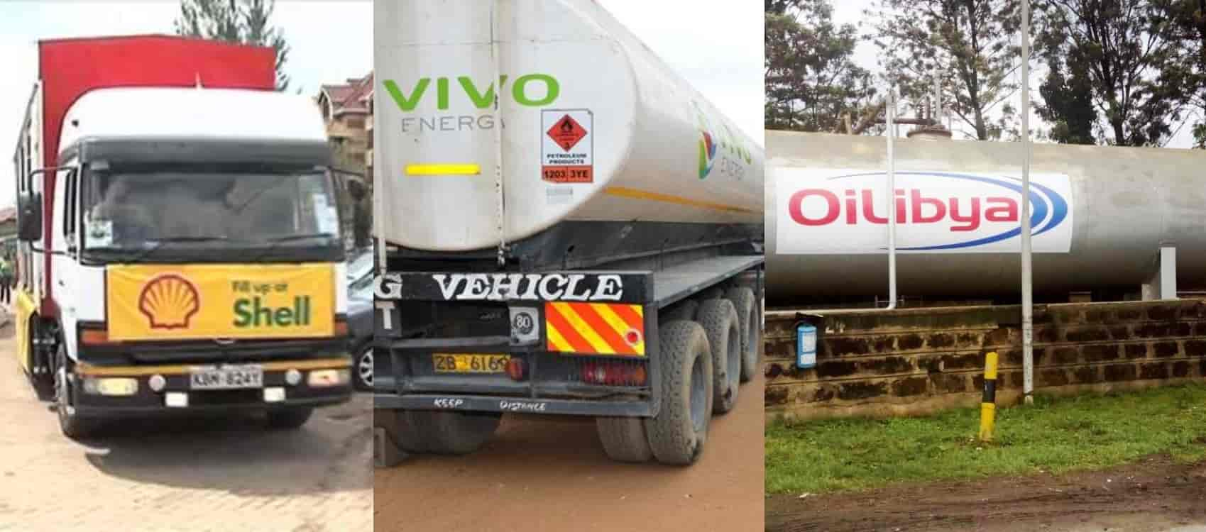 List Of Top Oil Marketing Companies in Kenya
