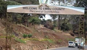 List Of All Wards In Embu County