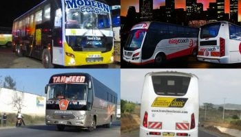 List Of 10 Best Managed Bus Companies In Kenya