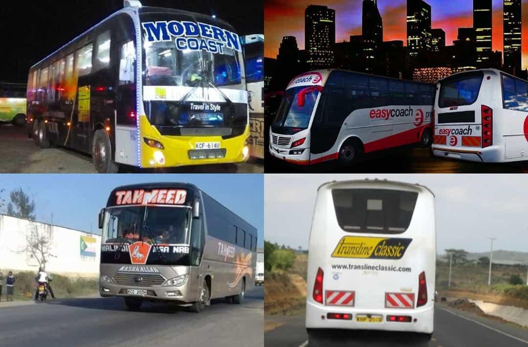 List Of 10 Best Managed Bus Companies In Kenya