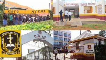 List Of All Accredited KMTC Branches In Kenya