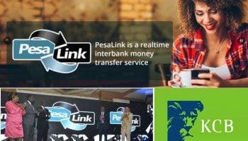 KCB PesaLink Charges in Kenya