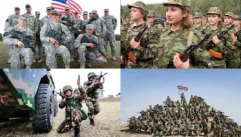 List Of Top 50 Strongest Militaries in The World 2020