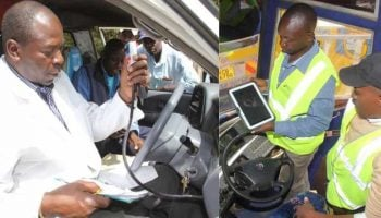 NTSA Motor Vehicle Inspection Charges In Kenya