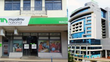 List Of Mwalimu National Sacco Branches in Kenya