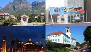 List Of Top 100 Best Universities In Africa 2020