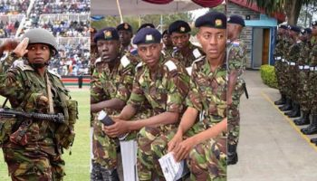 List of Kenya Defence Forces Shortlisted Candidates For 2018
