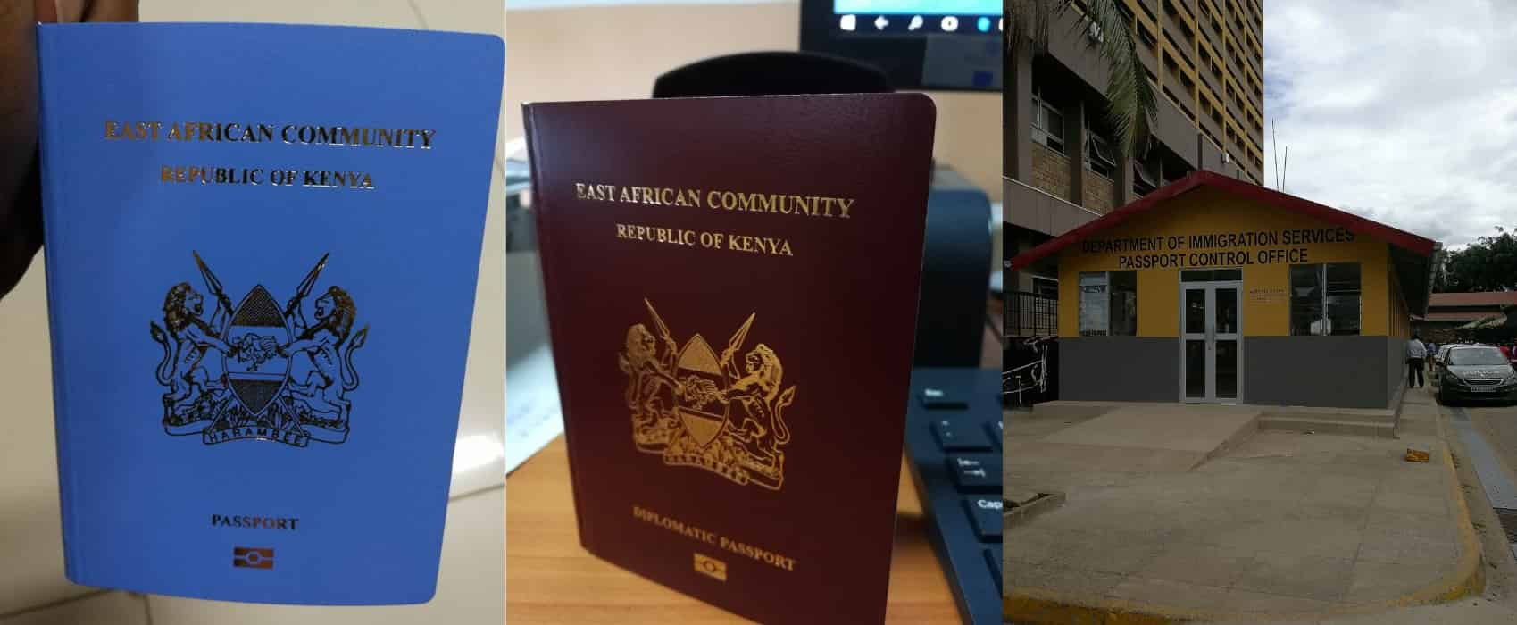 E-Passport Application Requirements In Kenya 2019
