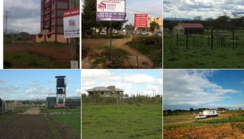 List Of Prices For 1/4 An Acre In Nairobi's Satellite Towns 2018