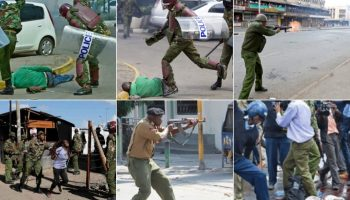 List Of Places In Nairobi With High Cases Of Police Killings