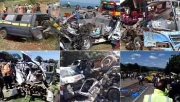 List Of Kenya's Worst Road Accidents