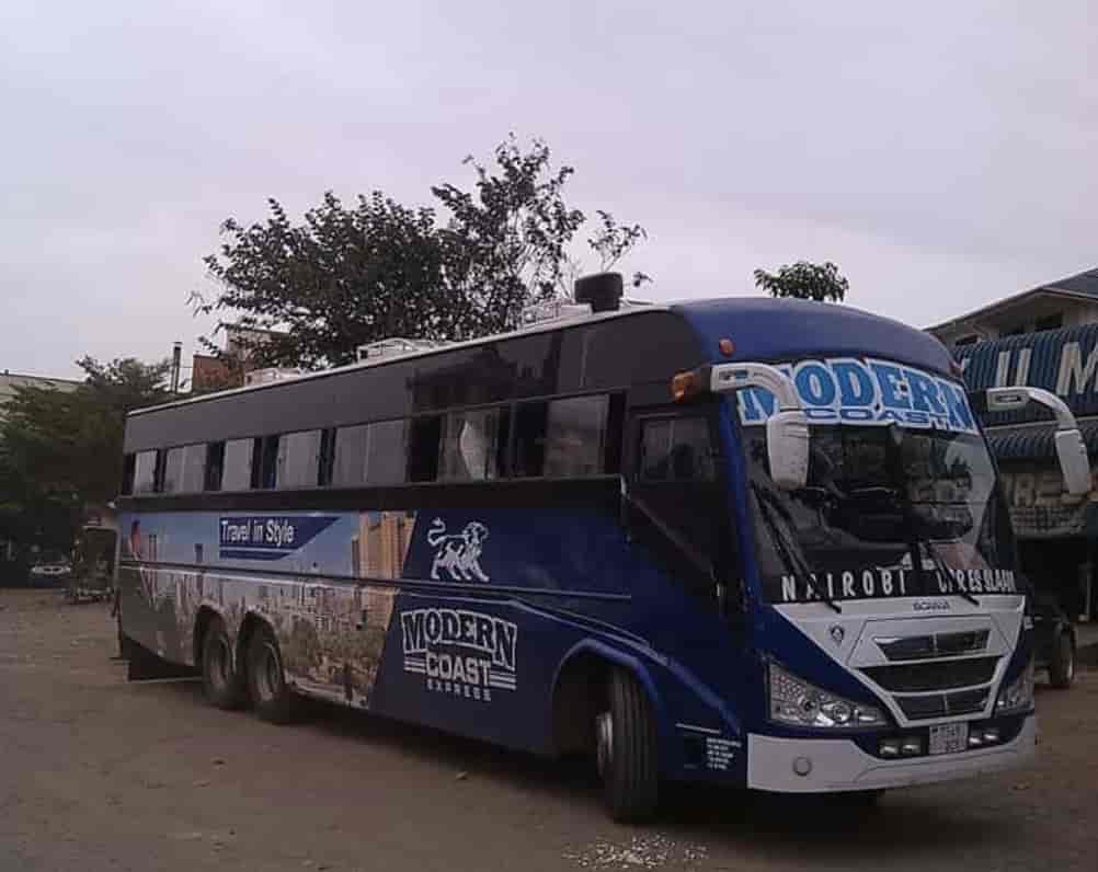 List Of Luxury Buses From Nairobi to Dar es Salaam
