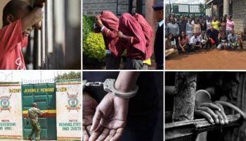 List Of Courts With Highest Cases Of Juvenile Offenders In Kenya