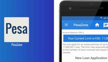 How To Apply and Repay PesaZone Mobile App Loan Via Mpesa