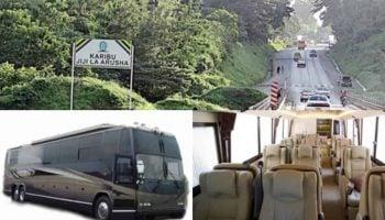 Best Private Luxury Shuttle Bus Nairobi Arusha Moshi