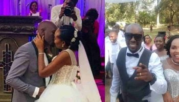 NTV's Dennis Okari and Naomi Joy Unseen Wedding Photos