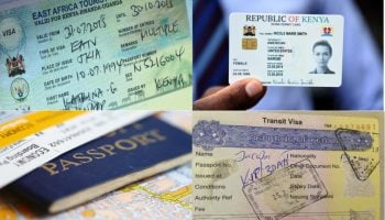 Types Of Visa, Permits, Passes And Their Fees In Kenya