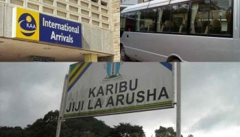 Private Luxury Shuttle Bus Nairobi JKIA Airport Arusha Moshi
