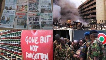 List of Darkest Events in Kenya Since Independence