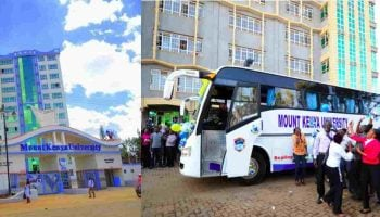 Mount Kenya University Courses and Fees Structure
