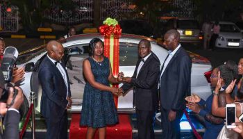Employee Of The Year Wins A Brand New Car