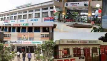 List Of Huduma Centres in Kenya