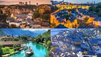 List Of Top 100 Richest Countries in the World 2020