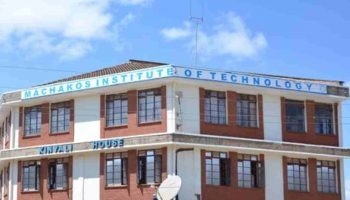 Machakos Institute of Technology Fees Structure 2020
