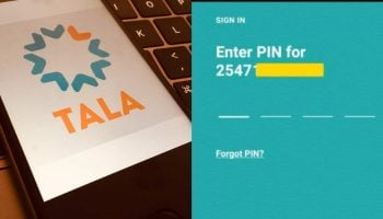 How To Reset Your Tala Loan App Pin