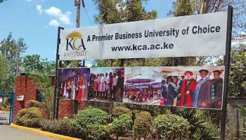 KCA University Fees Structure 2021