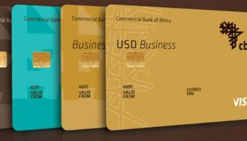 Credit Card Options Offered By Commercial Bank Of Africa
