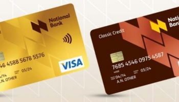Credit Card Options Offered By National Bank Of Kenya
