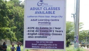 List Of Best Adult Education Centres In Kenya