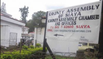 List Of MCAs In Siaya County