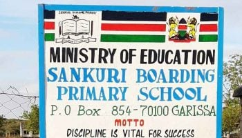 List Of Best Public Primary Schools In Garissa County