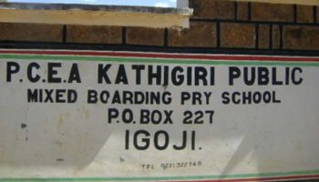 List Of Best Public Primary Schools In Meru County