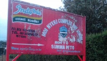 List Of Best Public Primary Schools In Nyeri County