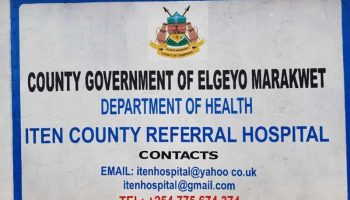 List of NHIF Accredited Hospitals In Elgeyo Marakwet County