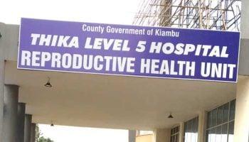 List of NHIF Accredited Hospitals In Kiambu County