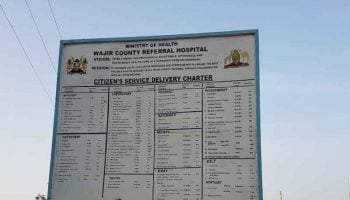 List of NHIF Accredited Hospitals In Wajir County