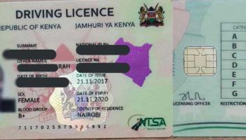How To Apply For a Smart Driving Licence in Kenya 2020